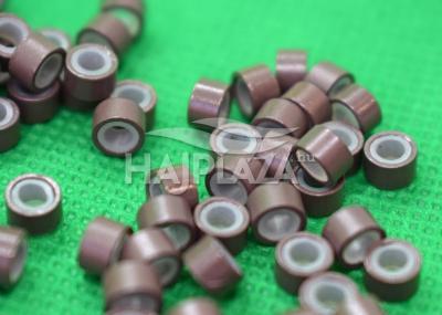 szilikonos mikrogyűrű 5mm középbarna 1000db