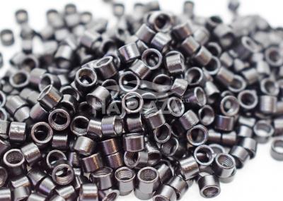 mikrogyűrű 4,5mm alu fekete 200db