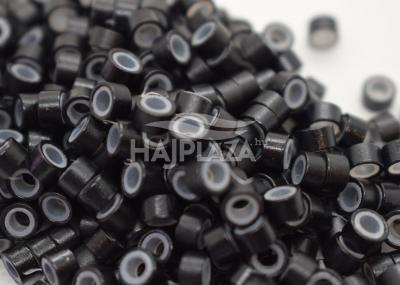 szilikonos mikrogyűrű 5mm fekete 200db