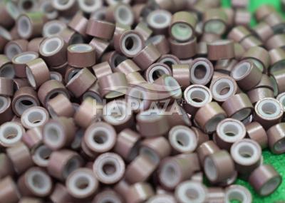szilikonos mikrogyűrű 5 mm középbarna 200db