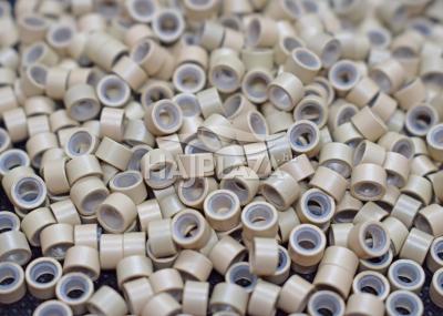 szilikonos mikrogyűrű 5 mm középszőke 100db