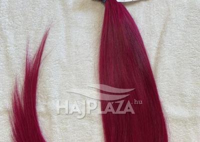 Natúr hajból festett,tincsezett haj TN-60