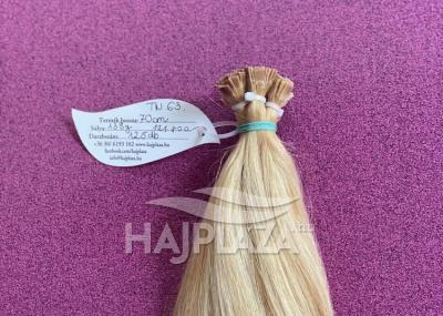 Natúr hajból festett,tincsezett haj TN-63