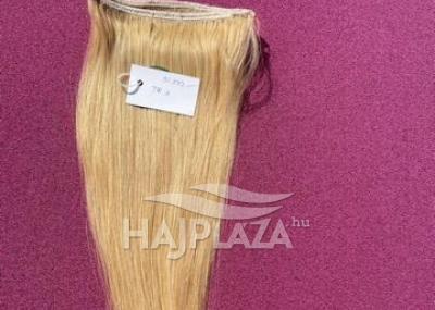 Natúr hajból festett,tresszelt haj TR-3