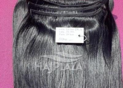 Natúr hajból festett,tresszelt haj TR-4