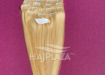 Natúr hajból festett, csatos natúr haj CSN-3