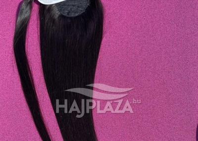 Natúr hajból festett, csatos copfok PC-1
