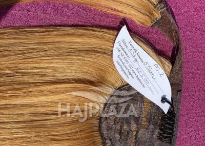 Natúr hajból festett, csatos copfok PC-2