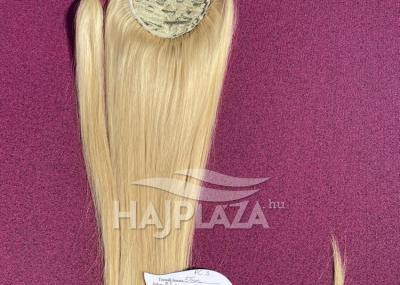 Natúr hajból festett,csatos copfok PC-3