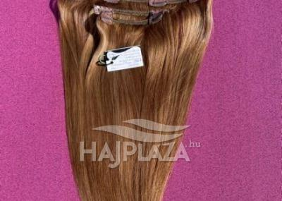 Natúr hajból festett,csatos natúr haj CSN-1