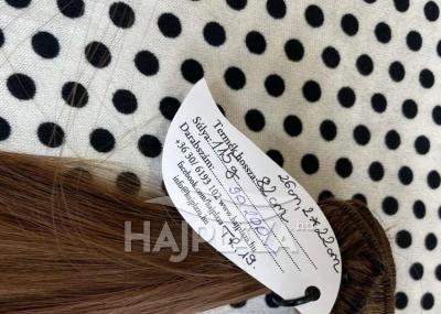 Natúr hajból festett, tresszelt haj TR-19