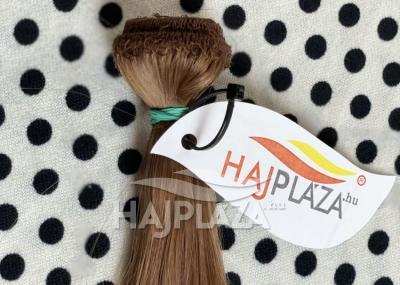 Natúr hajból festett, tresszelt haj TR-18