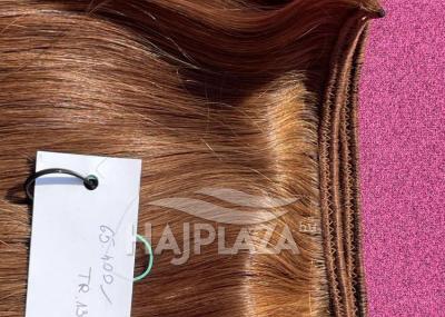 Tresszelt haj 40-45 cm világos barna (6)