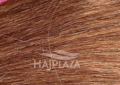 Tresszelt haj 50-55 cm világos barna (7)