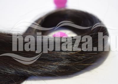 Tresszelt natúr emberi haj