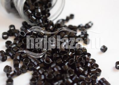 mikrogyűrű  4,5mm  alu fekete 1000db