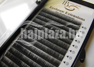 Szálas sötétbarna szemöldök, 0.15x6mm