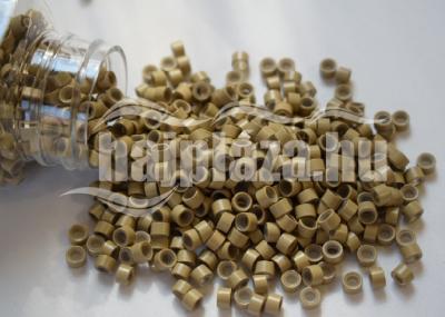 szilikonos mikrogyűrű 5 mm középszőke 200db
