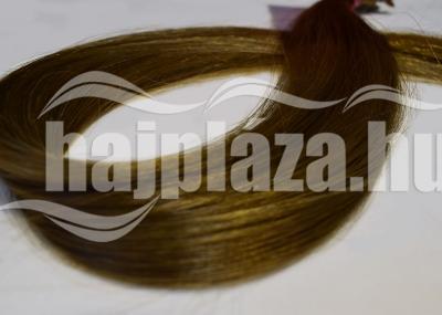 Natúr hajból festett világosbarna emberi haj NRK58