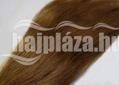 Natúr hajból festett világosbarna haj NRK 57