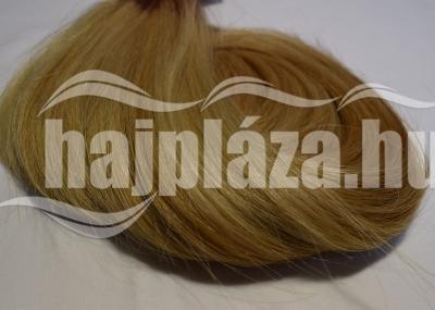 Natúr hajból festett szőke emberi haj NRK 55