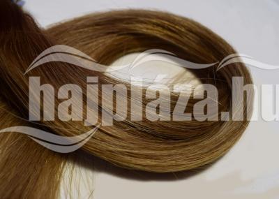 Natúr hajból festett középbarna haj NRK61