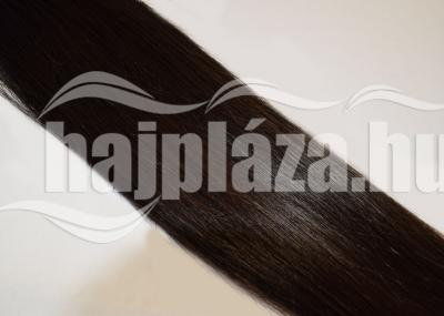 Natúr hajból festett sötétbarna haj NRK52