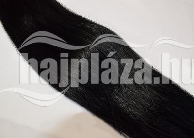 Natúr hajból festett fekete póthaj NRK66