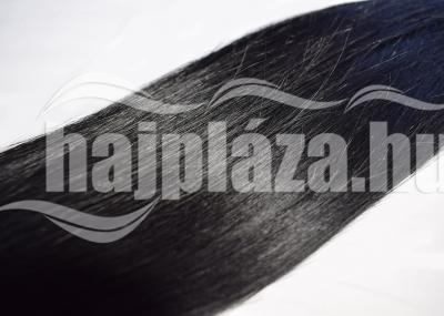 Natúr hajból festett fekete európai haj NRK67