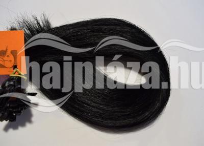 Natúr hajból festett fekete emberi haj NRK69