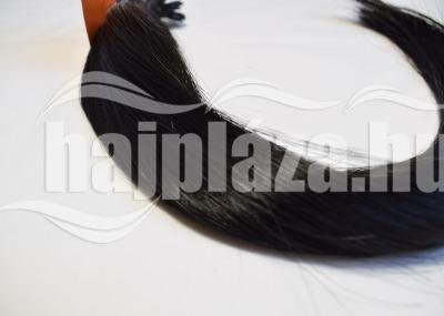 Natúr hajból festett fekete emberi haj NRK68