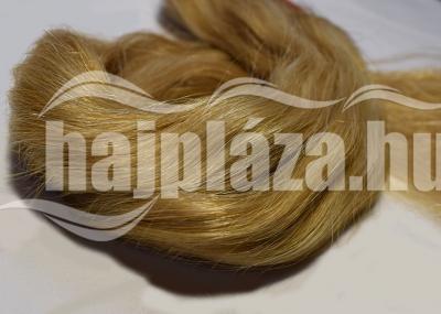 Natúr hajból festett világosszőke emberi haj NRK51