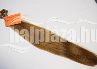 Natúr hajból festett középbarna póthaj NRK 59