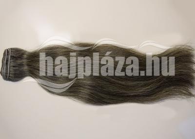 Natúr ősz tresszelt haj 50-55 cm