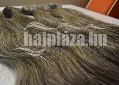 Natúr ősz tresszelt haj 60-65 cm