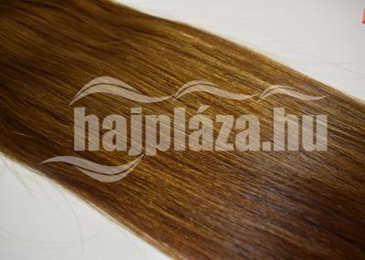 Natúr hajból festett középbarna póthaj NRK 74
