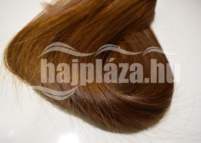 Natúr hajból festett középbarna póthaj NRK 75