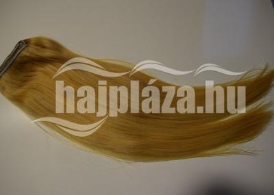 Natúr hajból festett világosszőke póthaj NRK 79