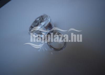 Kristály ragasztótartó gyűrű
