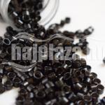 mikrogyűrű 4,5mm alu fekete 100db